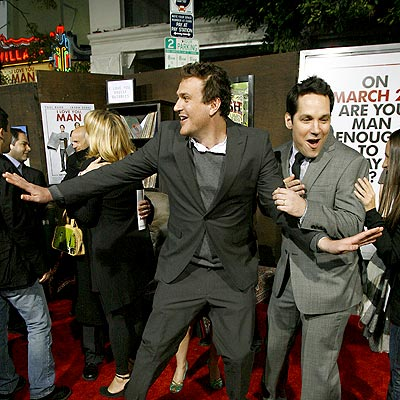 'MAN' CRUSH photo | Jason Segel, Paul Rudd