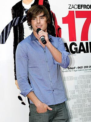 SPEAKING UP photo | Zac Efron