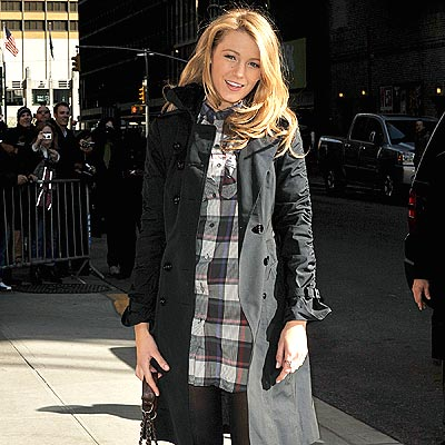 MAD FOR PLAID photo | Blake Lively