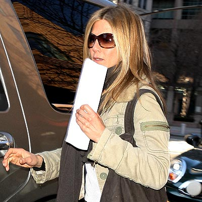 AT THE MOVIES photo | Jennifer Aniston