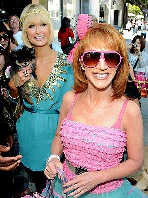 SMILE & RECONCILE photo | Kathy Griffin, Paris Hilton