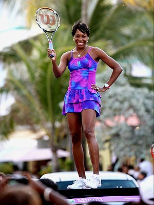 WHAT A RACKET! photo | Venus Williams