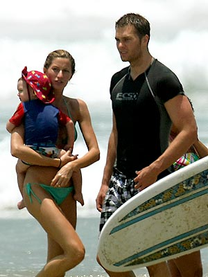 WATER BABIES photo | Gisele Bundchen, Tom Brady