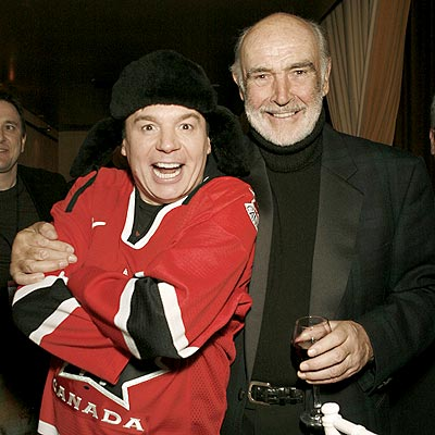 SCOT FREE photo | Mike Myers, Sean Connery