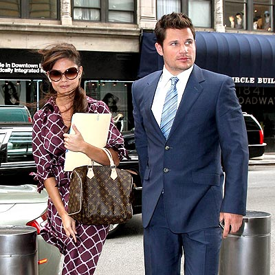 WIND SWEPT photo | Nick Lachey, Vanessa Minnillo