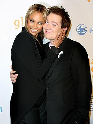 GLAAD TO BE THERE photo | Clay Aiken, Tyra Banks