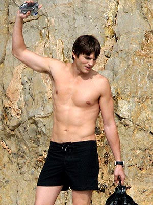 SUPER SIX-PACK photo | Ashton Kutcher