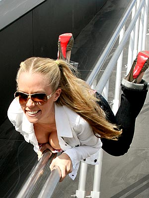 SLIP 'N' SLIDE photo | Kendra Wilkinson