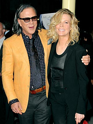 LINKED IN photo | Kim Basinger, Mickey Rourke