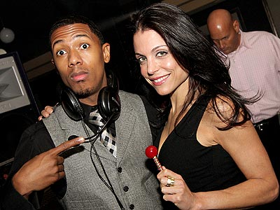 HEY, MR. DEEJAY! photo | Bethenny Frankel, Nick Cannon
