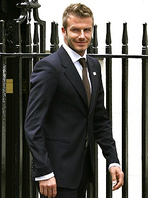 GETTING POLITICAL photo | David Beckham