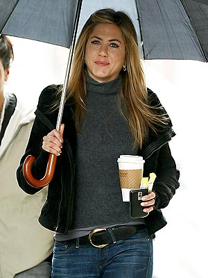 RAIN DELAY photo | Jennifer Aniston
