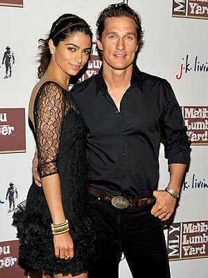 HOSTS WITH THE MOST photo | Camila Alves, Matthew McConaughey