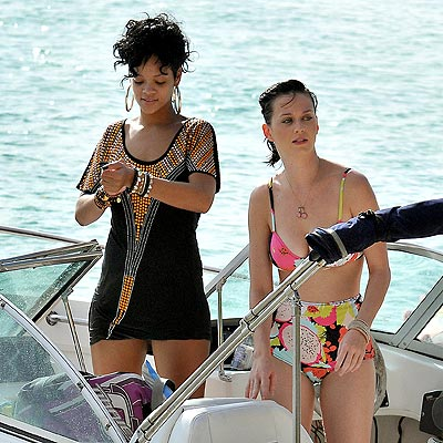 SAIL ON photo  Katy Perry, Rihanna