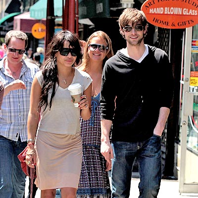 LUNCH BUNCH photo | Chace Crawford, Zoe Kravitz
