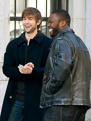 BUDDY COMEDY photo | 50 Cent, Chace Crawford