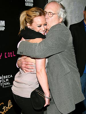 HUG IT OUT photo | Chevy Chase, Hilary Duff