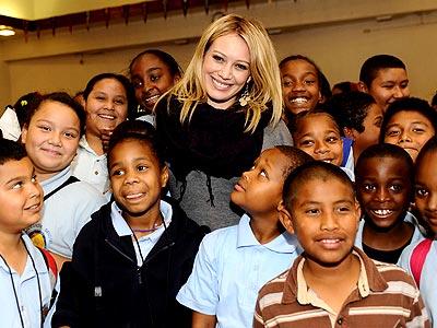 SCHOOL TIES photo | Hilary Duff