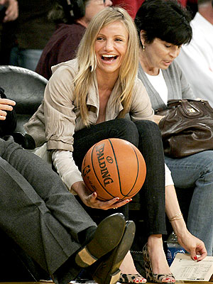 HAVING A BALL photo | Cameron Diaz