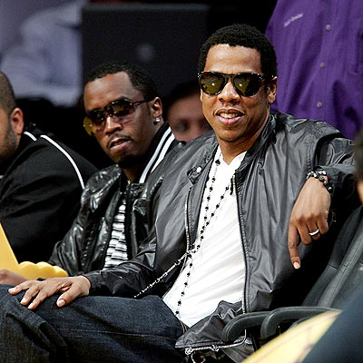 GAME FACES photo | Jay-Z, Sean \P. Diddy\ Combs