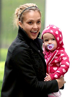 HEART-Y BABY photo | Jessica Alba