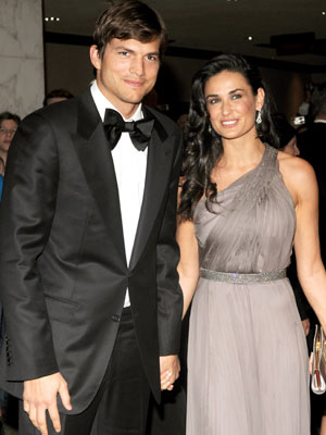 No Punking Zone photo | Ashton Kutcher, Demi Moore