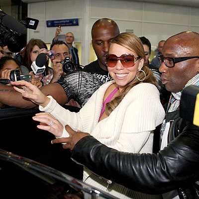 BIENVENUE À FRANCE! photo | Mariah Carey