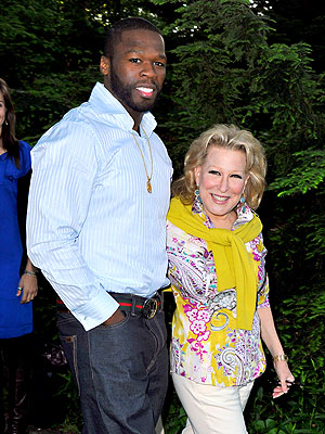 GARDEN PARTY photo | 50 Cent, Bette Midler