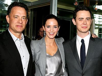 In 'Great' Company photo   Colin Hanks, Emily Blunt, Tom Hanks