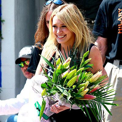 PETAL PUSHER photo | Hilary Duff