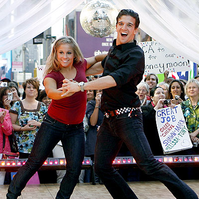 WINNING TURN photo | Mark Ballas, Shawn Johnson