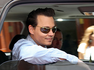 DRIVE-BY photo | Johnny Depp