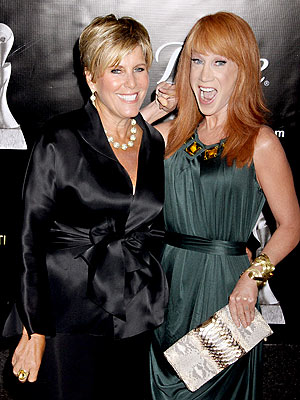 MAKING A POINT photo | Kathy Griffin, Suze Orman