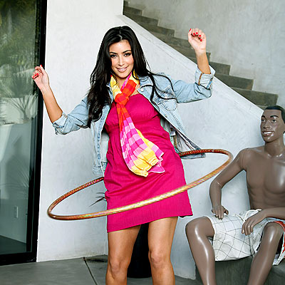 HOOPING IT UP photo | Kim Kardashian