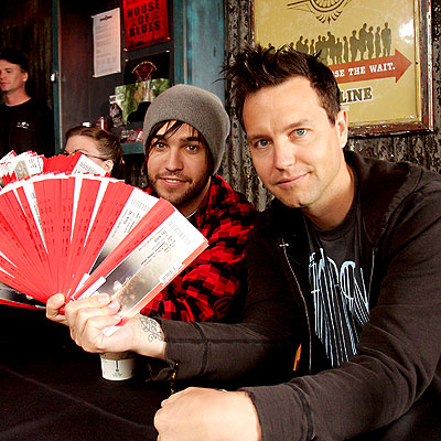 TICKET MASTERS photo | Mark Hoppus, Pete Wentz
