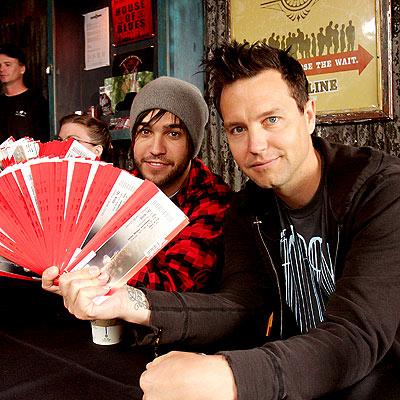 TICKET MASTERS photo | Mark Hoppus, Pete Wentz