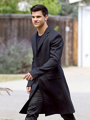 MAN IN BLACK photo | Taylor Lautner