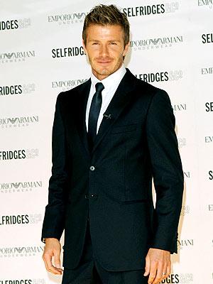 WHERE'S THE BRIEFS? photo | David Beckham