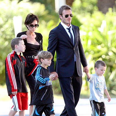 FAMILY AFFAIR photo | David Beckham, Victoria Beckham