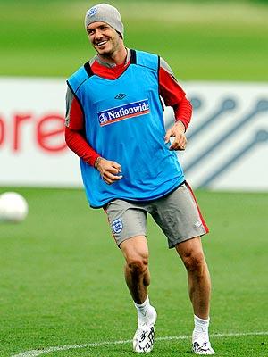 TRAINING DAY photo | David Beckham