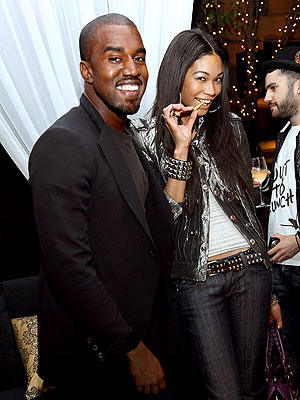 MAN OF 'STYLE' photo | Chanel Iman, Kanye West