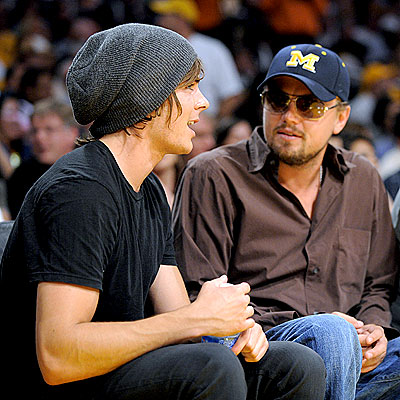 SPORTS NIGHT photo | Leonardo DiCaprio, Zac Efron