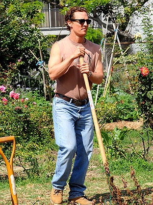 IT'S A HOE-DOWN photo | Matthew McConaughey