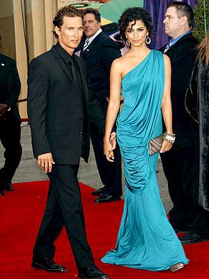 BLACK & BLUE photo | Camila Alves, Matthew McConaughey