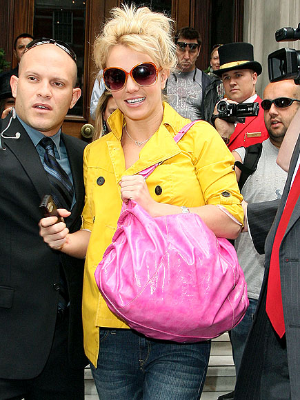 YELLOW JACKET photo | Britney Spears