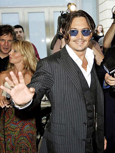 STAR IN STRIPES photo   Johnny Depp