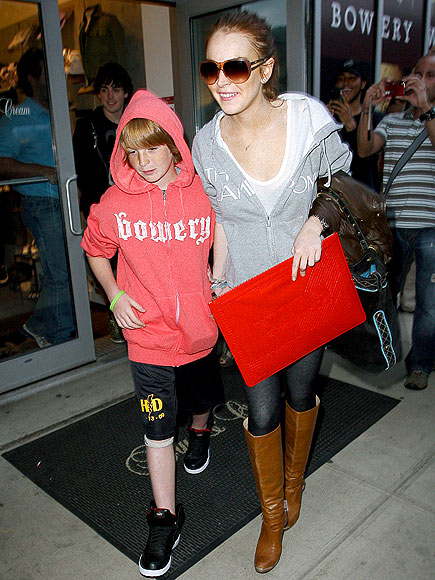 BIRTHDAY BOY photo | Lindsay Lohan