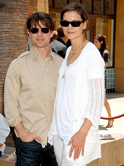HONORABLE MENTION photo | Katie Holmes, Tom Cruise