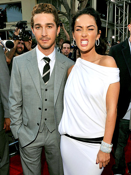 ACTION STARS photo | Megan Fox, Shia LaBeouf