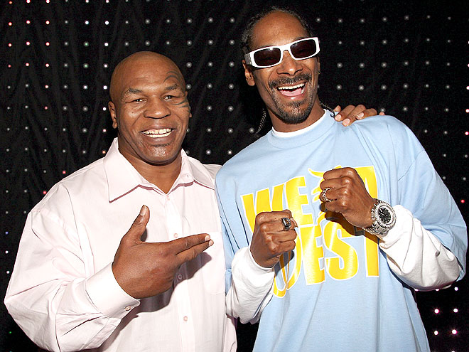 GAME ON! photo | Mike Tyson, Snoop Dogg